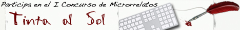 I Concurso de Microrrelatos Tinta al Sol