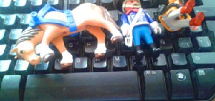 teclado playmobil