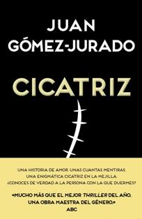 Cicatriz de Juan Gómez-Jurado