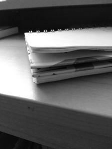 cuaderno acabado