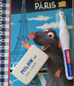 cuaderno ratatouille