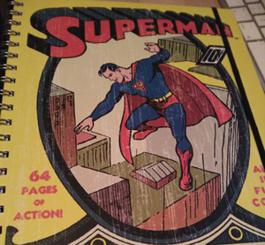 cuaderno superman